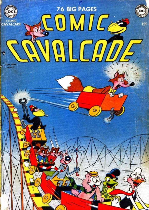 Comic Cavalcade Vol 1 40