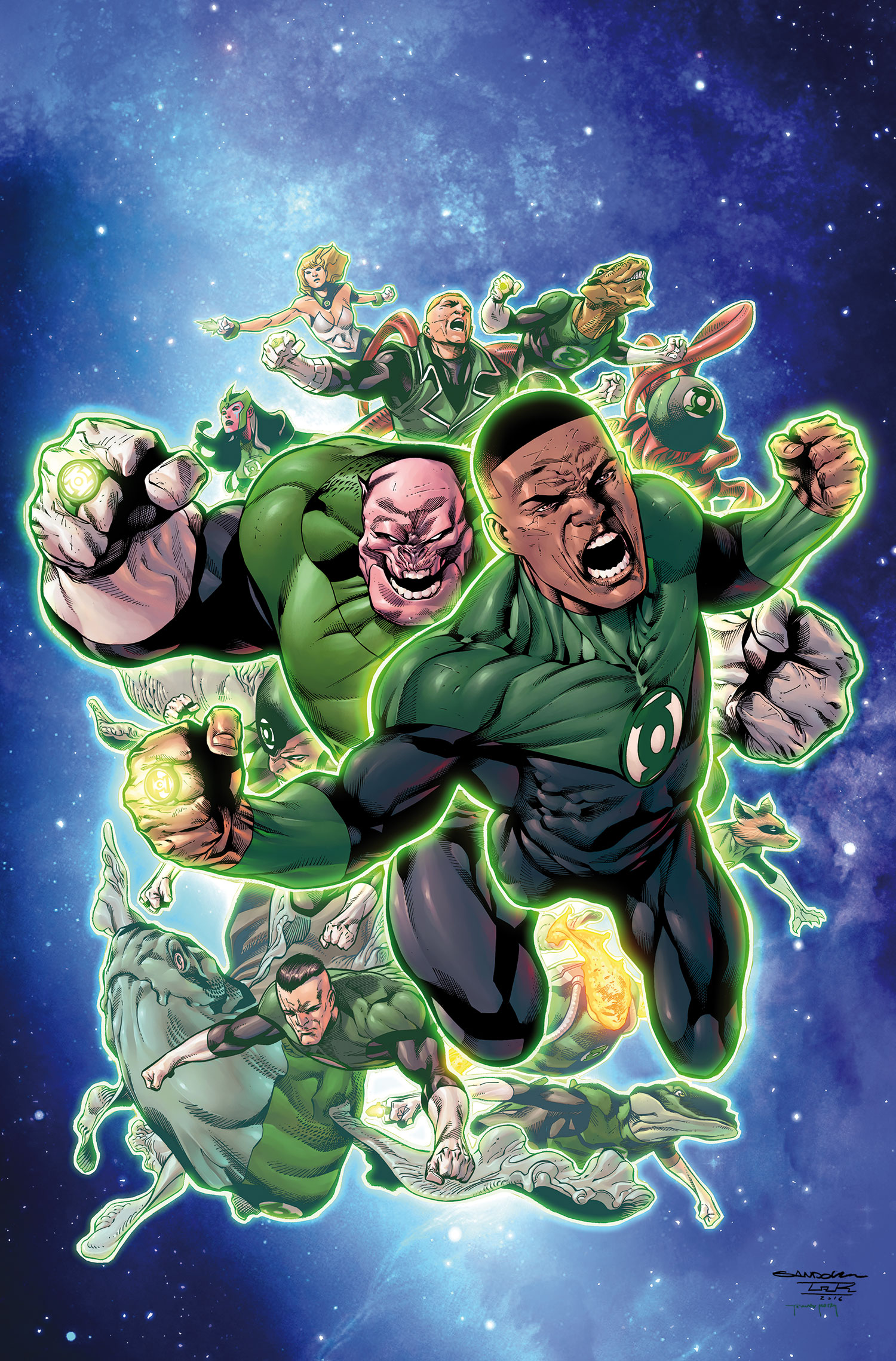 Green Lantern Corps (Prime Earth)/Gallery
