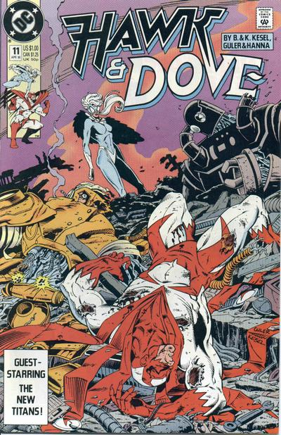Hawk and Dove Vol 3 11