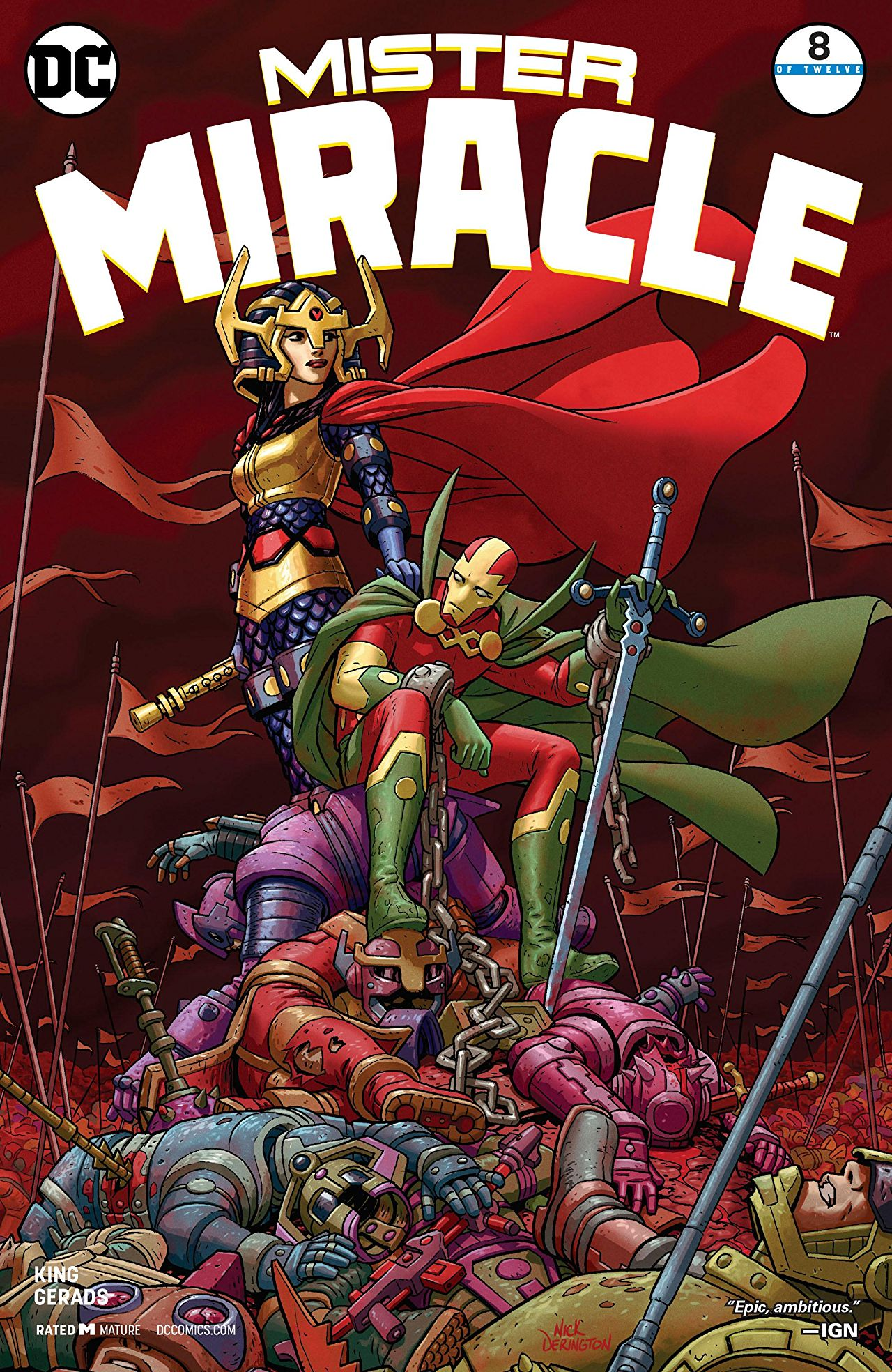 Mister Miracle Vol 4 8