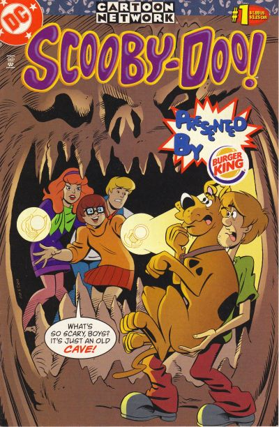Scooby-Doo (Burger King Giveaway) Vol 1 1