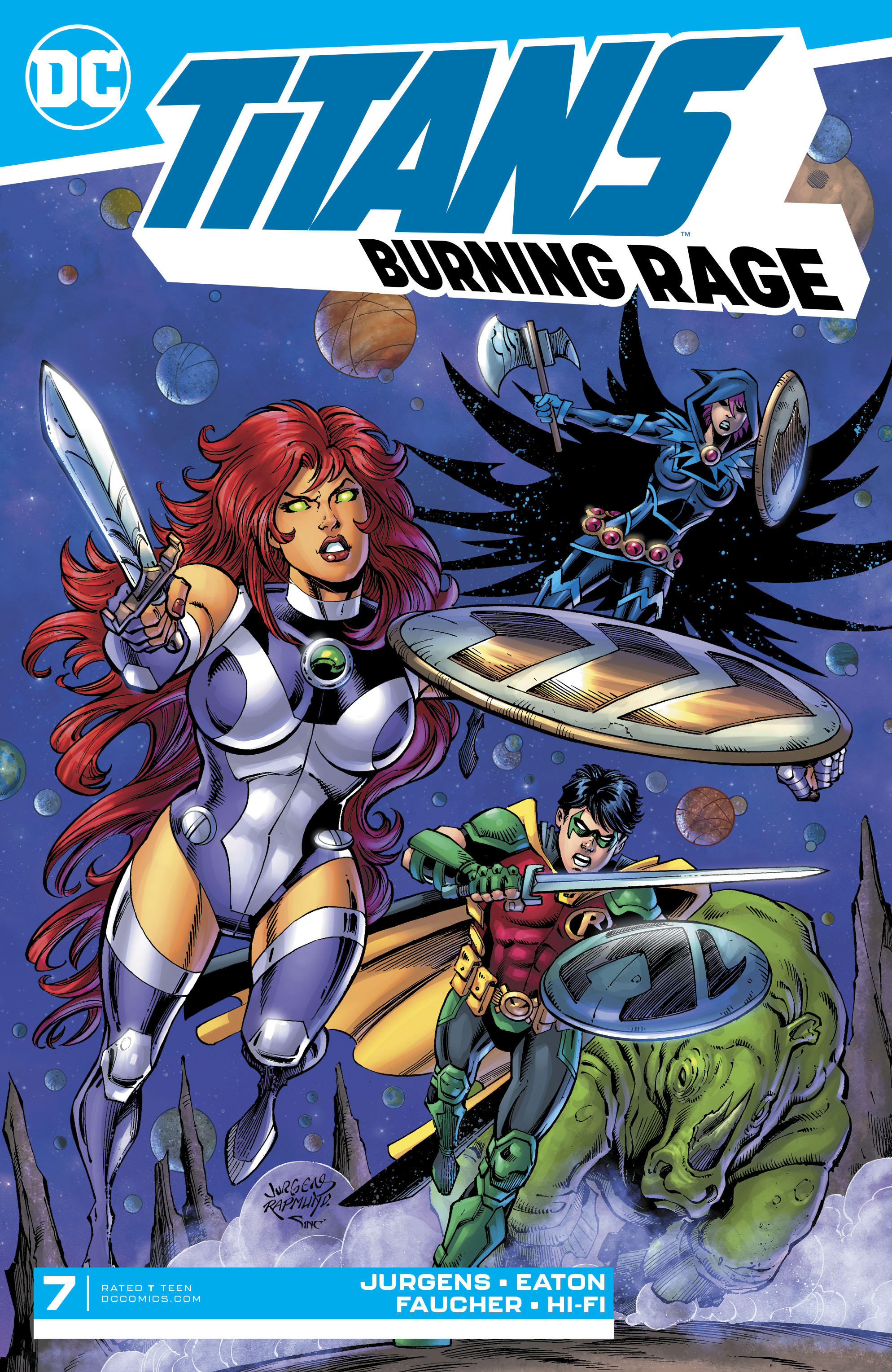 Titans: Burning Rage Vol 1 7