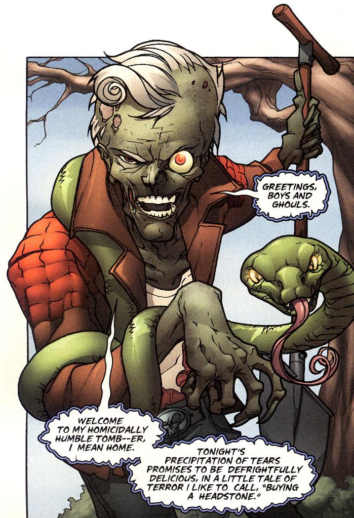 Zombie Zeke (Wildstorm Universe)