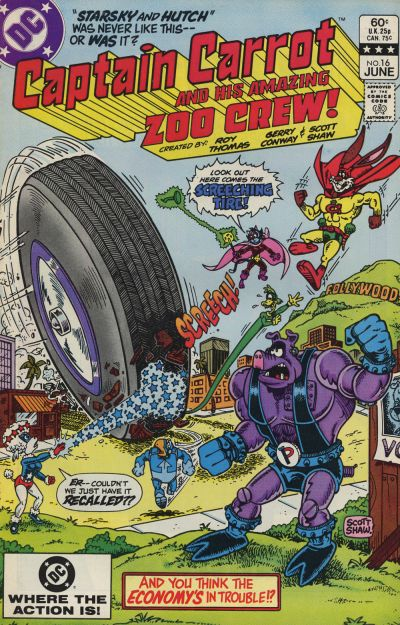 Captain Carrot and His Amazing Zoo Crew Vol 1 16