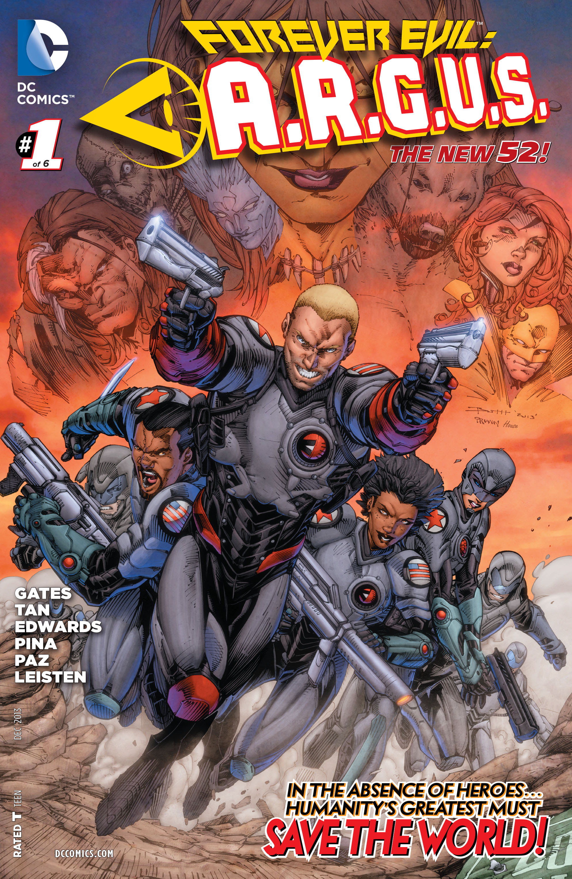 Forever Evil: A.R.G.U.S. Vol 1