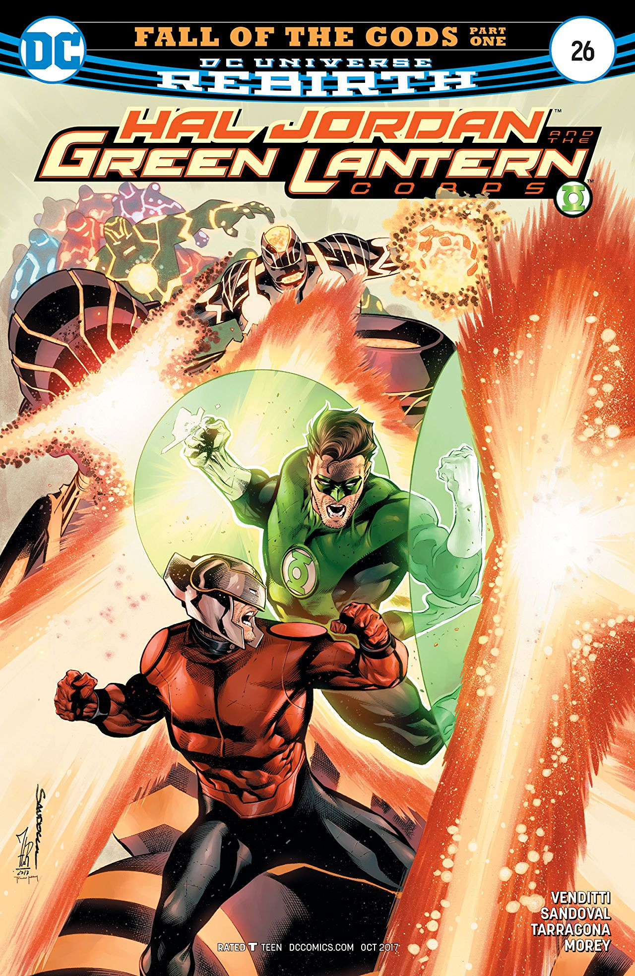 Hal Jordan and the Green Lantern Corps Vol 1 26