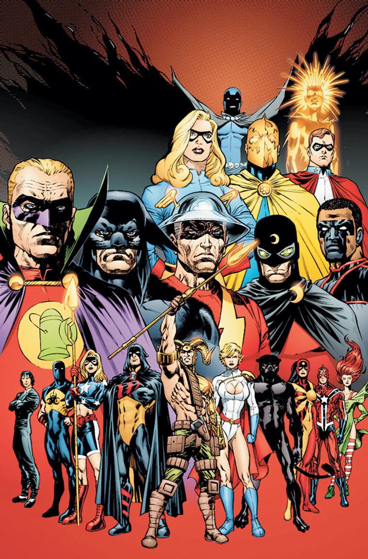 Justice Society of America Vol 3 33 Textless.jpg
