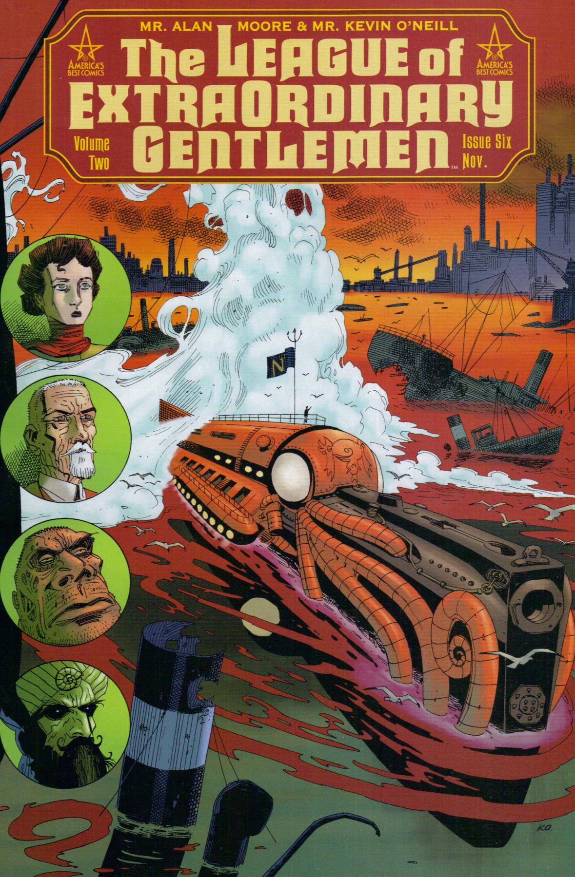 League of Extraordinary Gentlemen Vol 2 6