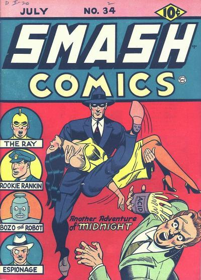 Smash Comics Vol 1 34