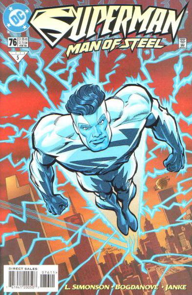 Superman: The Man of Steel Vol 1 76