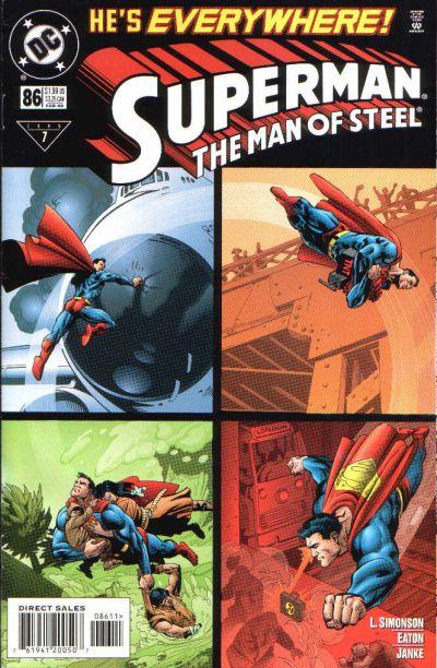 Superman: The Man of Steel Vol 1 86