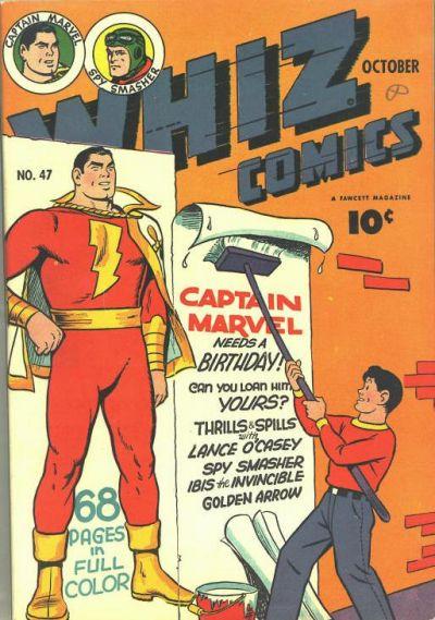 Whiz Comics Vol 1 47