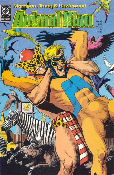 Animal Man Vol 1 4