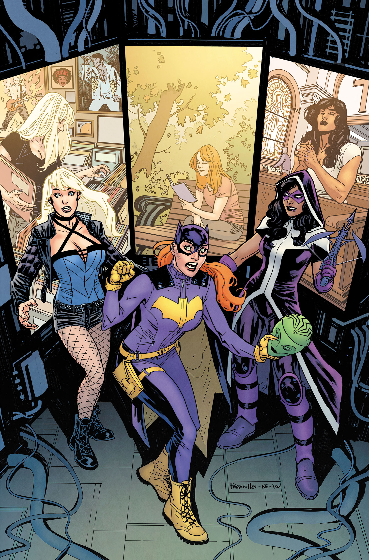 Batgirl and the Birds of Prey Vol 1 5 Textless.jpg