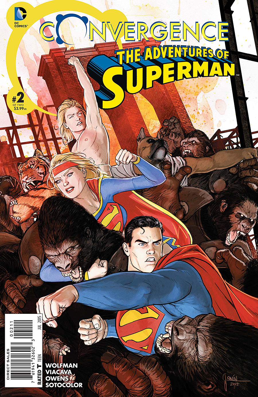 Convergence: Adventures of Superman Vol 1 2
