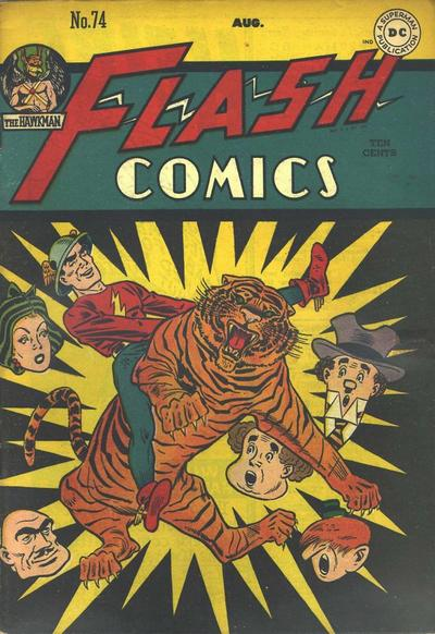 Flash Comics Vol 1 74