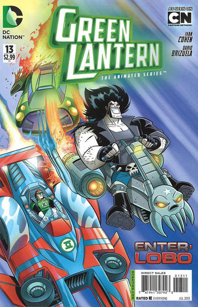 Green Lantern: The Animated Series Vol 1 13