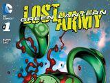 Green Lantern: The Lost Army Vol 1 1