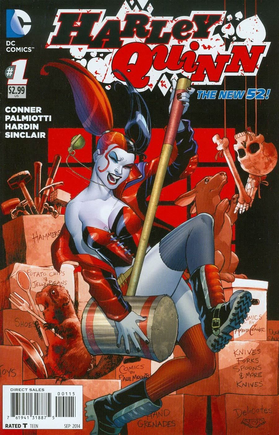 Harley Quinn Vol 2 1 5th Printing.jpg