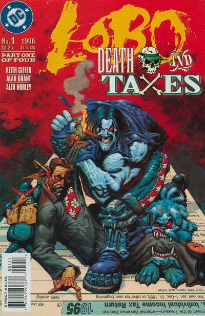 Lobo: Death and Taxes Vol 1