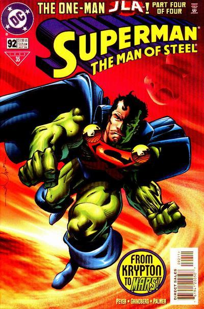Superman: The Man of Steel Vol 1 92