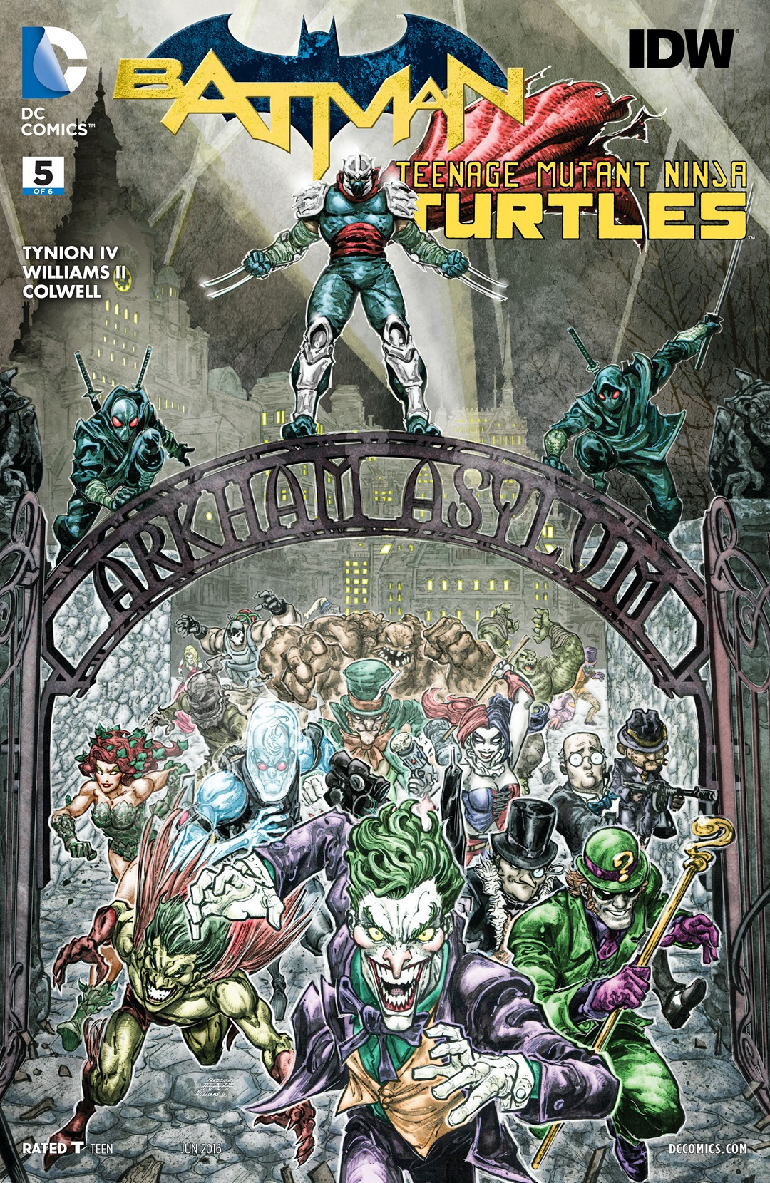 Batman/Teenage Mutant Ninja Turtles Vol 1 5