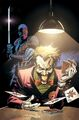 Deathstroke Vol 3 7 Textless Joker Variant