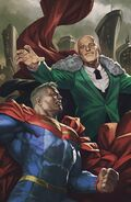Future State Superman vs. Imperious Lex Vol 1 2 Textless Variant
