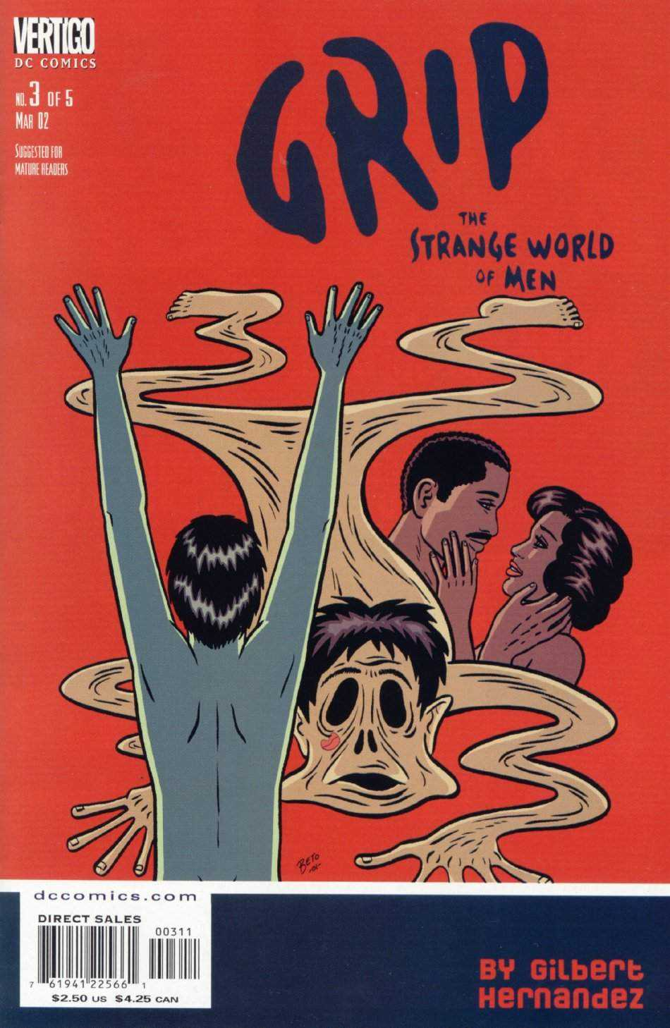 Grip: The Strange World of Men Vol 1 3
