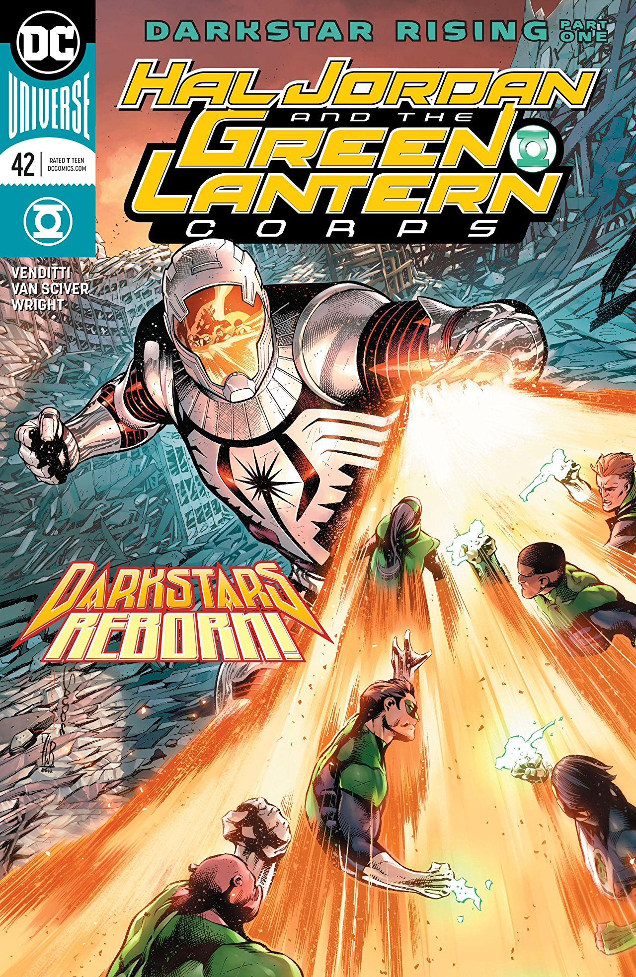 Hal Jordan and the Green Lantern Corps Vol 1 42