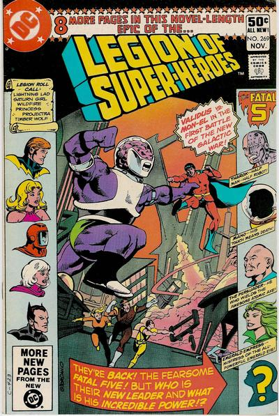 Legion of Super-Heroes Vol 2 269