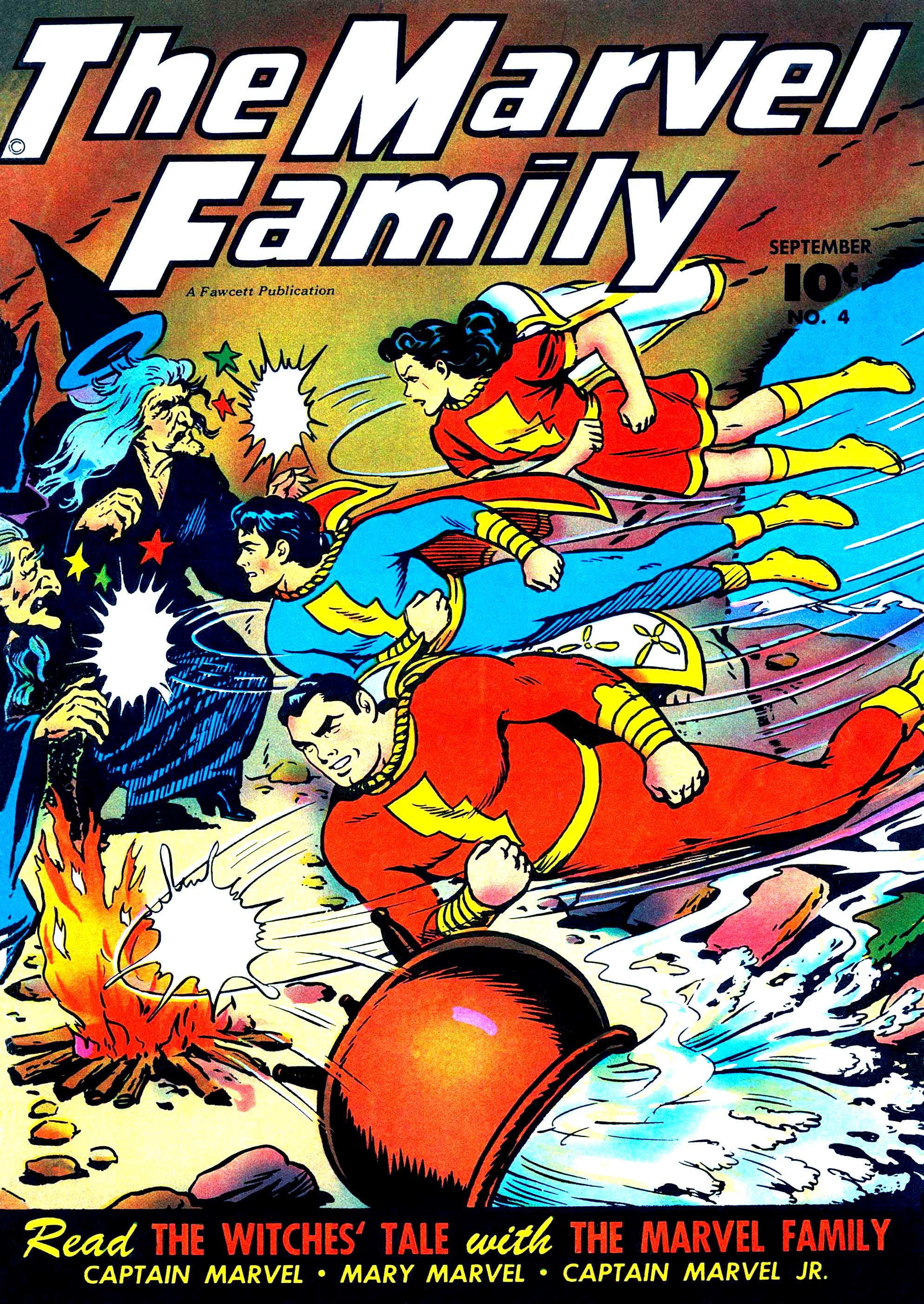 Marvel Family Vol 1 4