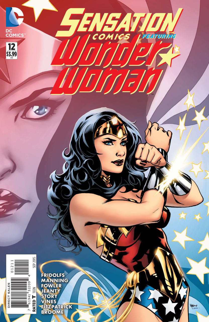 Sensation Comics Featuring Wonder Woman Vol 1 12