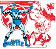 Blue Beetle Earth-Four 001