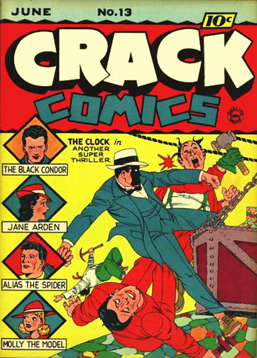 Crack Comics Vol 1 13