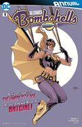 DC Comics Bombshells Annual Vol 1 1