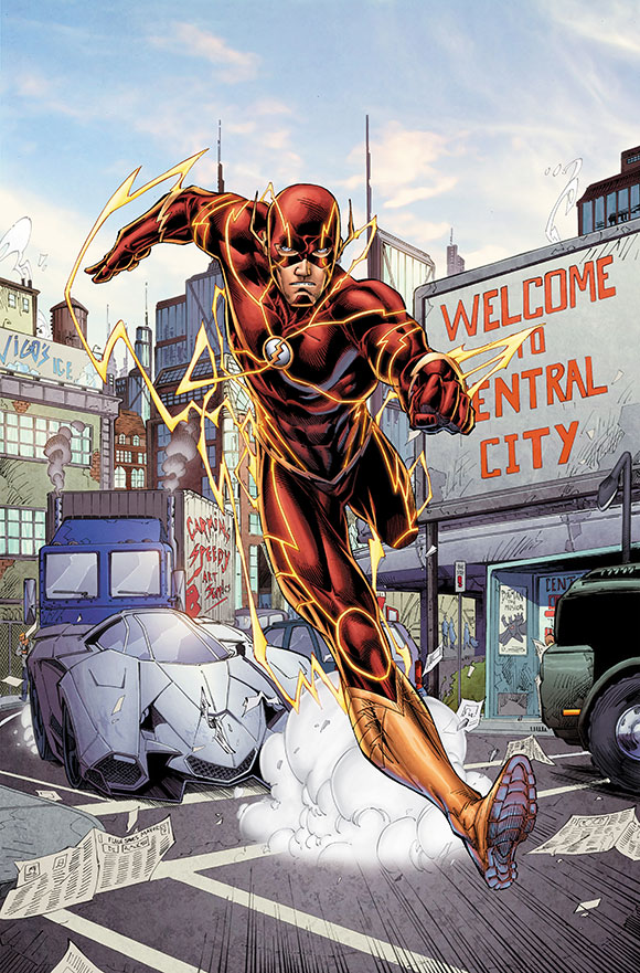 Barry Allen (Futures End)
