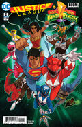 Justice League Power Rangers Vol 1 2