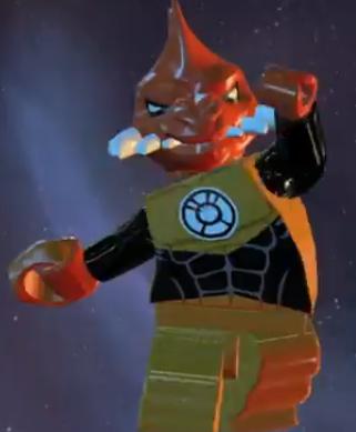 Larfleeze (Lego Batman)
