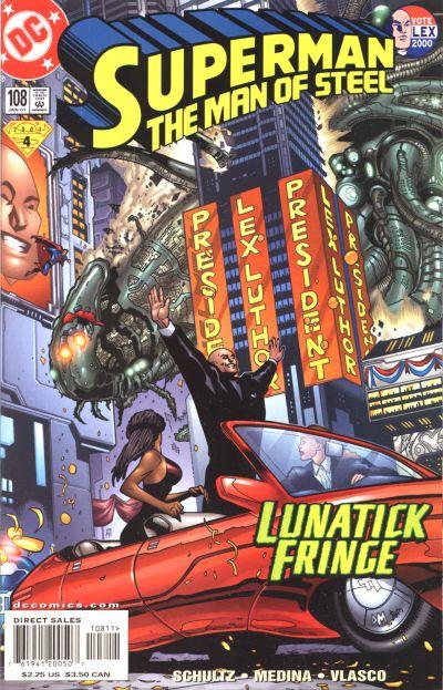 Superman: The Man of Steel Vol 1 108