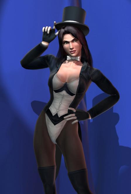Zatanna Zatara (Justice League Heroes)
