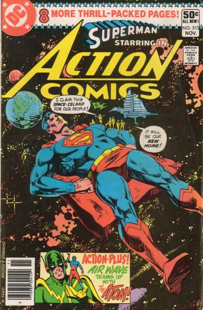 Action Comics Vol 1 513