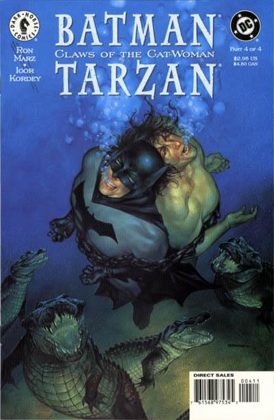 Batman/Tarzan: Claws of the Cat-Woman Vol 1 4
