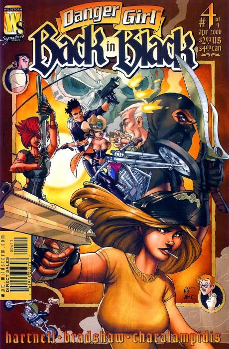 Danger Girl: Back in Black Vol 1 4
