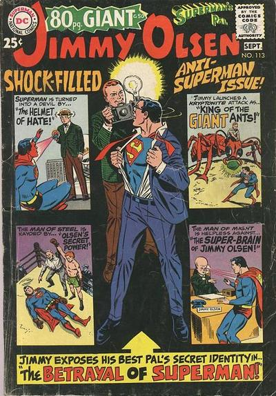 Superman's Pal, Jimmy Olsen Vol 1 113