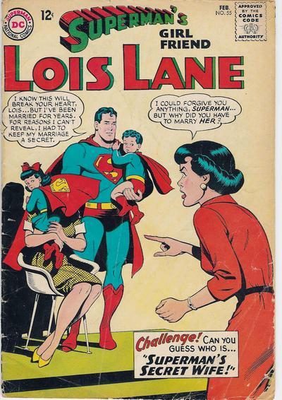 Superman's Girl Friend, Lois Lane Vol 1 55