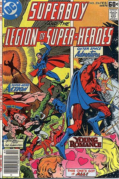Superboy and the Legion of Super-Heroes Vol 1 236