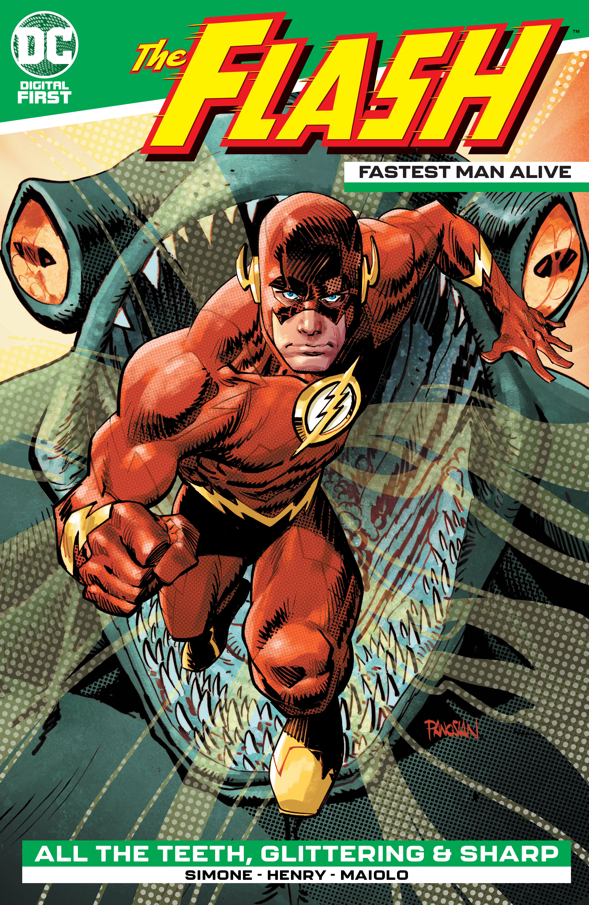 The Flash: Fastest Man Alive Vol 1 1 (Digital)