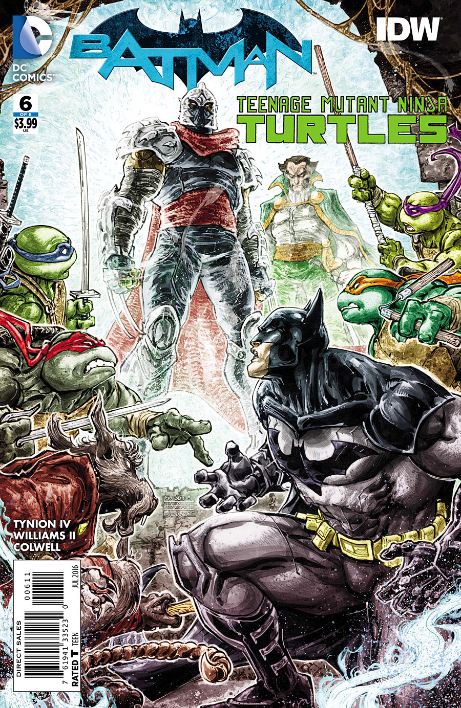 Batman/Teenage Mutant Ninja Turtles Vol 1 6