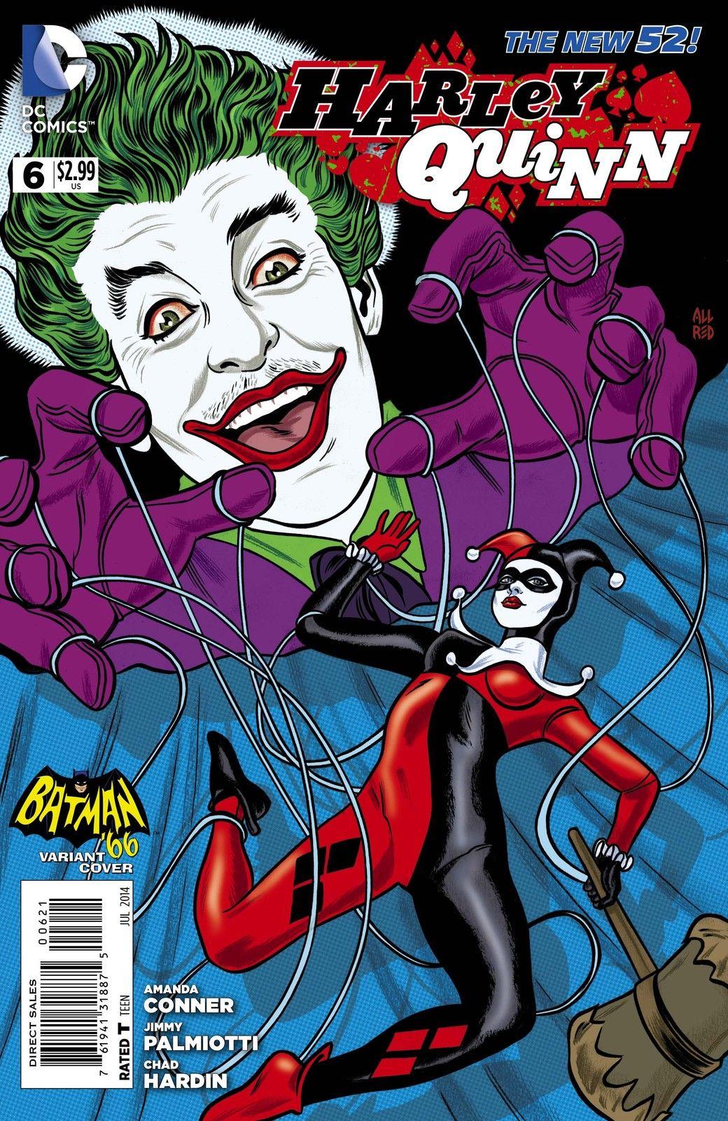 Harley Quinn Vol 2 6 Batman '66 Variant.jpg